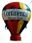 35 ft. advertising balloon with business logo